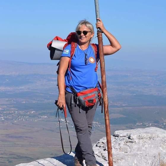 Marija Paro- Predsjednica PK Gojzerice,Split, planinarenje, avanturizam