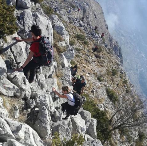PK Gojzerice, planinarenje, planine